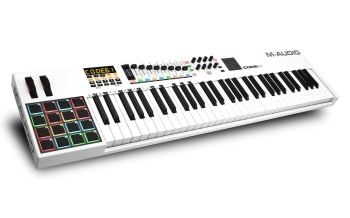 M-Audio - Code 61 61-Key USB MIDI Keyboard Controller with X/Y Touch Pad
