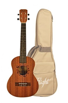 Kremona - Flight NUT 310 Tenor Ukulele with Gig Bag