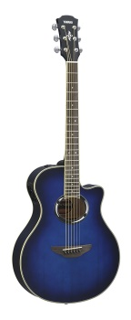 Yamaha - APX500III Thinline Cutaway Acoustic/Electric Guitar
