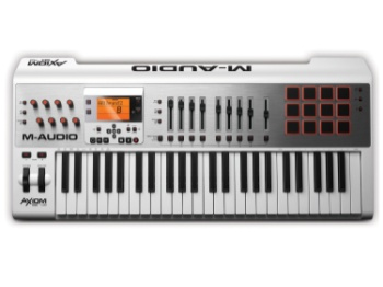 M-Audio - Axiom AIR 49 49-Key USB MIDI Keyboard Controller with Pro Tools Express and Ignite by AIR