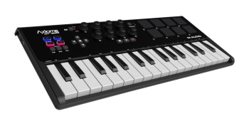M-Audio - Axiom AIR Mini 32 Premium 32-Key USB MIDI Keyboard & Drum Pad Controller