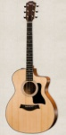 Taylor - 114CE Grand Auditorium Cutaway Acoustic/Electric Guitar