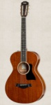 Taylor - 12-Fret All-Mahogany Grand Concert Acoustic/Electric Guitar