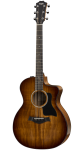 Taylor - Deluxe 224ce-K Grand Auditorium Acoustic/Electric Guitar