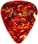 Fender - 351 Model Picks - Medium, Shell - 144 picks