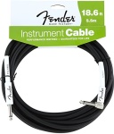 Fender - 18.6' Performance Series Instrument Cable (Straight-Right Angle)