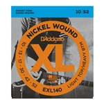 D'Addario - EXL140 Nickel Wound Electric Guitar Strings, Light Top/Heavy Bottom, 10-52
