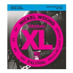 D'Addario - EXL170 Nickel Wound Bass Guitar Strings, Light, 45-100, Long Scale
