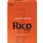 Rico Royal - Tenor Sax Reeds, Strength 3, 10-pack