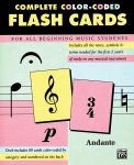 Complete Color Coded Flash Cards for All Beginning Music Students
