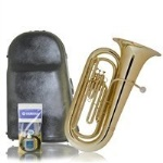 King - 1140W Student BBb Three Valve Tuba w/ Case
