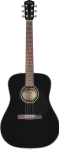 Fender - CD-60 Dreadnought Acoustic Guitar with Case