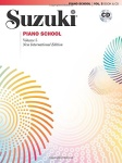 Suzuki Piano School, Vol. 5: Book & CD