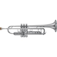 Yamaha - YTR-8345 Xeno Series Bb Trumpet Silver Yellow Brass Bell