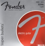 Fender - Super Bullets Nickel Plated Steel Bullet End Electric Guitar Strings - Light