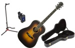 Fender - PM-1 Paramount Deluxe Dreadnought Acoustic/Electric Guitar