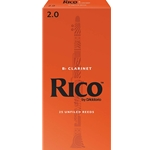 Rico - Clarinet Reeds, Strength 2, 25-pack