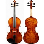 Krutz Strings - Clemente Ruby Violin, 4/4, discontinued finish.