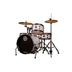Ludwig - Pocket Kit by Questlove, Silver/White Sparkle