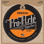 D'Addario - EJ43 Pro-Arte Nylon Classical Guitar Strings Light Tension