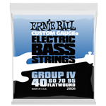 Ernie Ball - Flatwound Group IV Electric Bass Strings - 40-95 Gauge