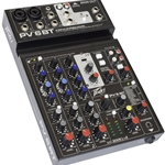 Peavey - PV 6BT Compact Mixer 6 Channel with Bluetooth