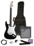 Fender - Affinity Stratocaster Pack with Frontman 10G Amplifier and Accessories