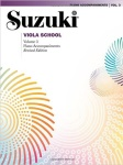 Suzuki Viola School, Vol 3: Piano Acc.