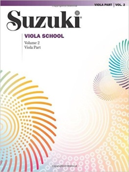 Suzuki Viola School, Vol 2: Viola Part