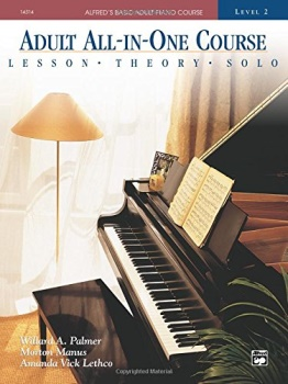 Adult All-in-one Course: Level 2 - Alfred's Basic Adult Piano Course