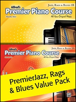 Premier Piano Course: Jazz, Rags and Blues 1A, 1B