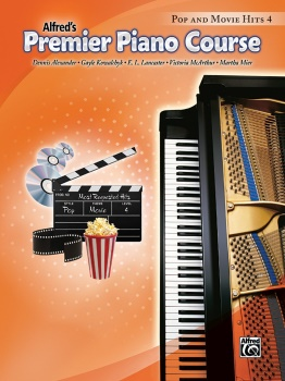 Premier Piano Course: Pop and Movie Hits 4