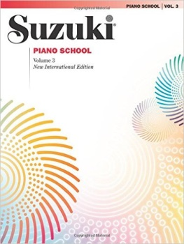 Suzuki Piano School, Vol. 3: Piano Part