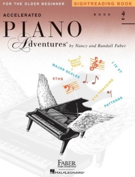 Accelerated Piano Adventures Sightreading: Book 2