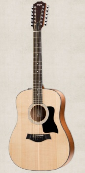 Taylor - 150E Dreadnought 12-String Acoustic/Electric Guitar