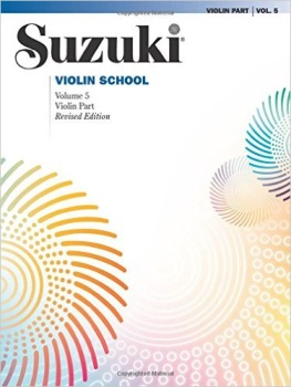 Suzuki Violin School, Vol 5: Violin Part (Suzuki Method Core Materials)