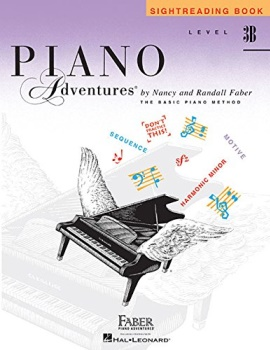 Piano Adventures: Sightreading Book - Level 3B