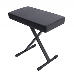 On Stage Stands - KT7800 Plus Wide, Extra Padded Keyboard Bench